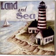 Land And Sea Fine-Art Print