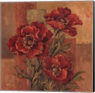 Poppies Terra Cotta Fine-Art Print