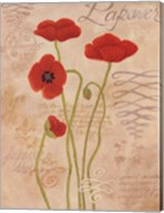 Poppy Fresco I Fine-Art Print