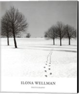 Winter Footsteps Fine-Art Print