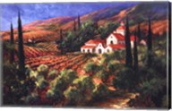 Tuscan Monastery Fine-Art Print