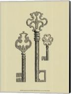 Antique Keys II Fine-Art Print