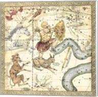 Zodiac Chart IV Fine-Art Print