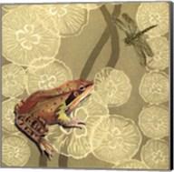 Frog Fable I Fine-Art Print