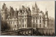 Petite Sepia Chateaux II Giclee