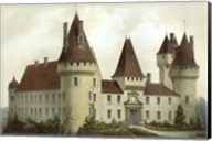 Petite French Chateaux I Giclee