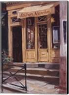 Shop Of The Three Steps, Paris Fine-Art Print