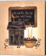 Serve The Lord Fine-Art Print