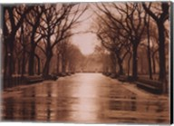 Rainy Day - Central Park Fine-Art Print