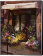 Parisian Flower Shop Fine-Art Print