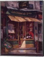 Montmarte Wine Shop Fine-Art Print