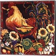 Rooster Harvest Fine-Art Print