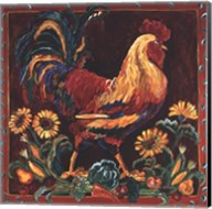 Rooster Rustic Fine-Art Print