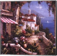 Mediterranean Arches I Fine-Art Print