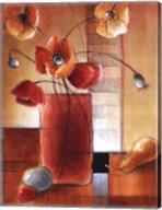 Afternoon Poppy Still Life I Fine-Art Print