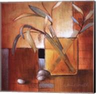 Afternoon Bamboo Leaves III Fine-Art Print