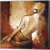 Seated Woman I Fine-Art Print
