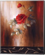 Crimson Rose II Fine-Art Print