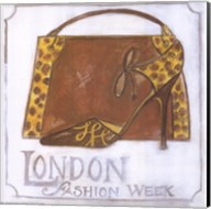 Couture - London Fashion Week - Leopard Shoes Fine-Art Print