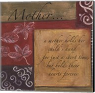 Words to Live By - Mother Fine-Art Print