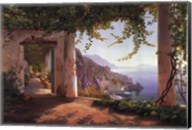View to the Amalfi Coast Fine-Art Print