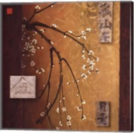 Oriental Blossoms II Fine-Art Print