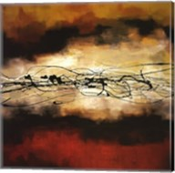 Harmony in Red and Ochre Fine-Art Print