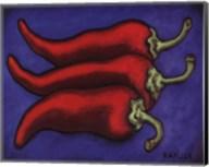 Three Chilli Peppers Fine-Art Print
