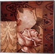 Linen Roses I Fine-Art Print