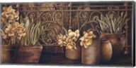 Ironwork with Daffodils Fine-Art Print