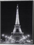 Eiffel Tower at Night Fine-Art Print
