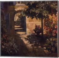 Courtyard in Provence Fine-Art Print