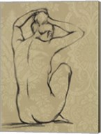 Sophisticated Nude I Giclee