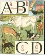 Noah's Alphabet I Fine-Art Print