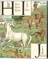 Noah's Alphabet III Fine-Art Print