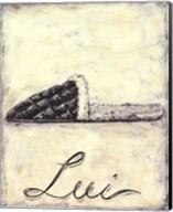 Lui- French Cozy Slipper Fine-Art Print