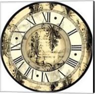 Small Aged Elegance Clock Fine-Art Print