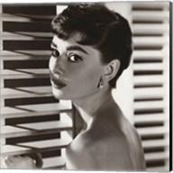 Audrey Hepburn – Blinds Fine-Art Print
