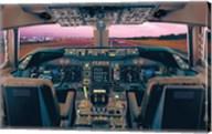 Boeing 747-400 Flight Deck Fine-Art Print