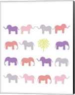 Animal Sudoku in Pink IV Fine-Art Print