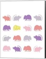 Animal Sudoku in Pink V Fine-Art Print