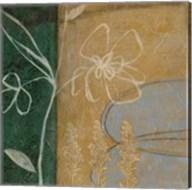 Pressed Wildflowers III Fine-Art Print