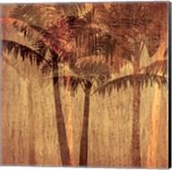 Sunset Palms II Fine-Art Print