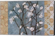 Patterned Magnolia Branch Fine-Art Print