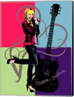 Hannah Montana: Let it Rock Fine-Art Print