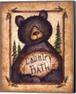 Country Bath Fine-Art Print