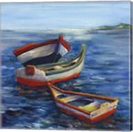 Vibrant Sea I Fine-Art Print