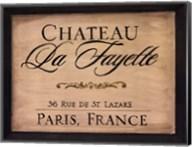 Chateau La Fayette Fine-Art Print