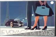 Le Voyage de Paris II Fine-Art Print