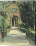 Arco y Columna Fine-Art Print